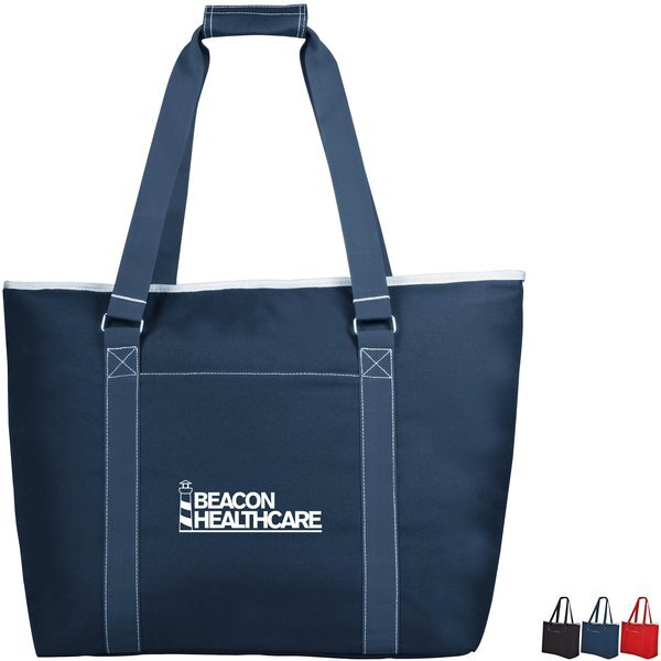 Tahoe Insulated Polyester Canvas Cooler Tote