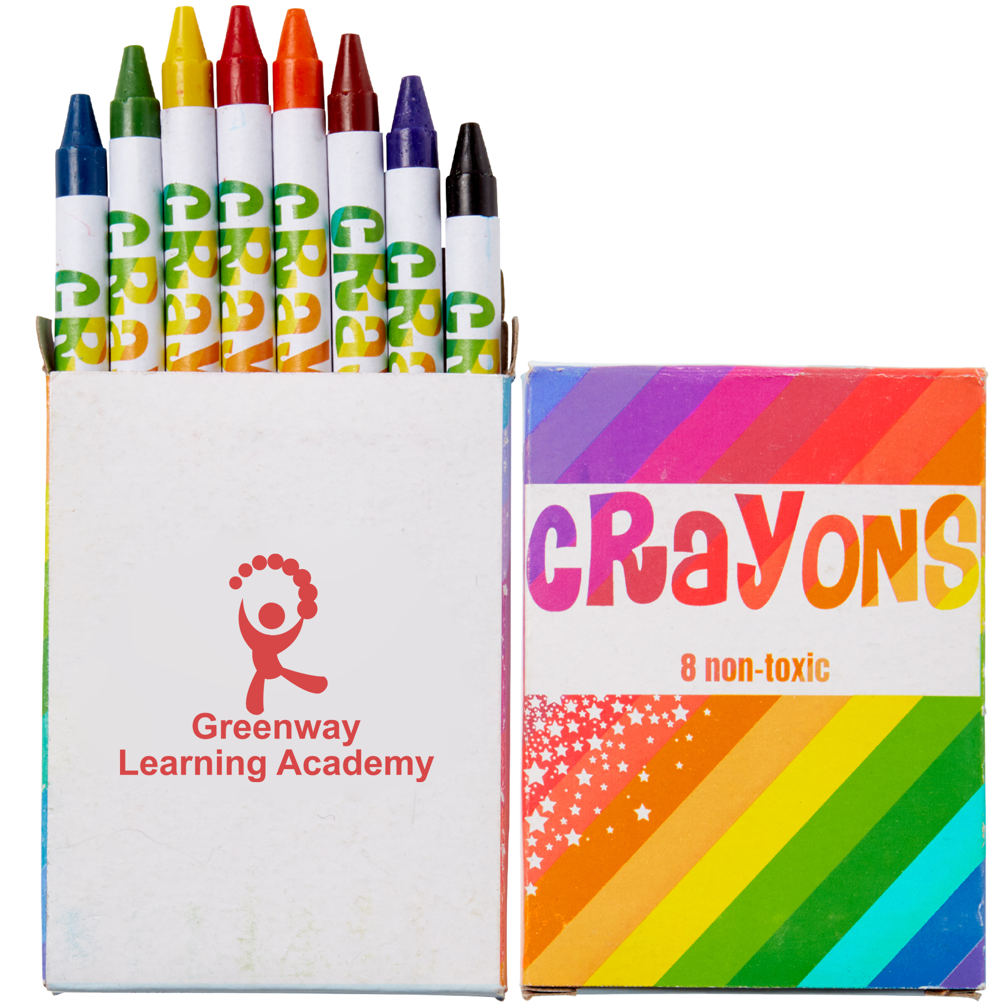 Eight Pack Crayons