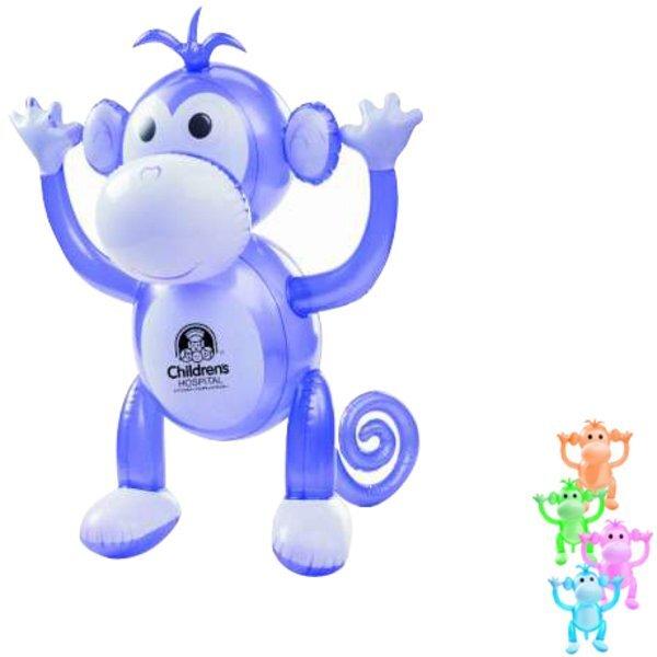 """Inflatable Monkey, 24"""""""