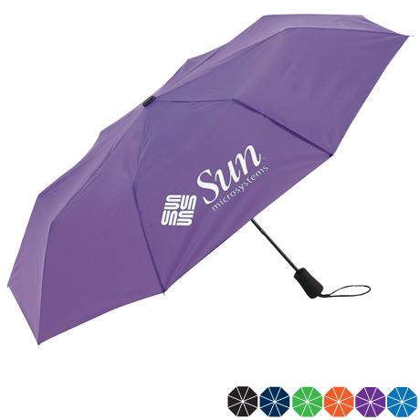 "Element Auto Open Mini Folding Umbrella, 42"" Arc"