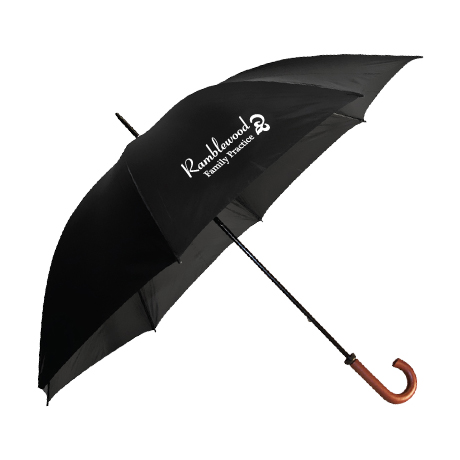 "Doorman Manual Open Umbrella, 60"" Arc"