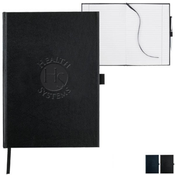 "Executive Large Bound Journal Book, 7"" x 10"""
