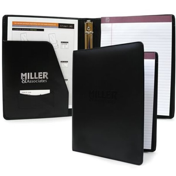 Leather Ring Binder, 1""