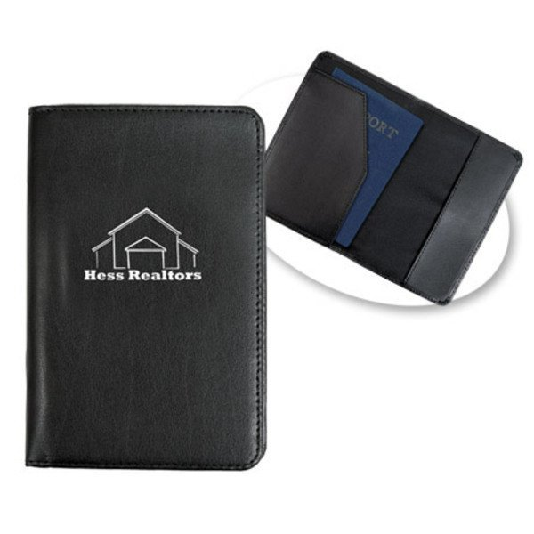 Bonded Leather Passport Holder