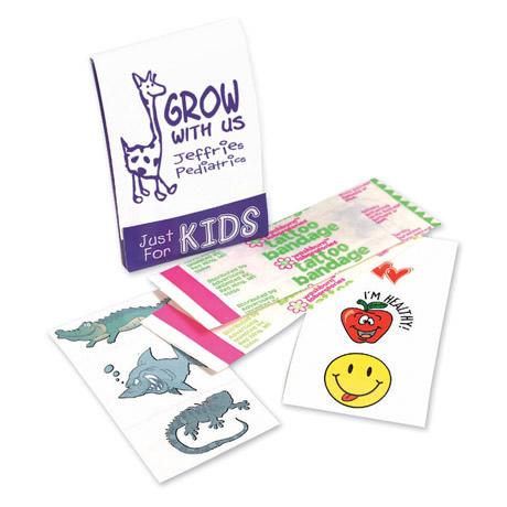 Kid's Fun Pocket Pack with Tattoo Bandages