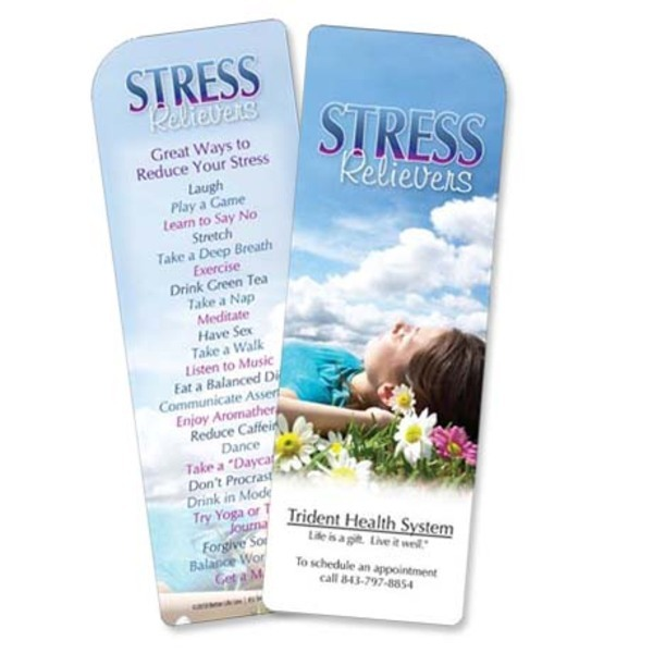 Stress Relievers Bookmark