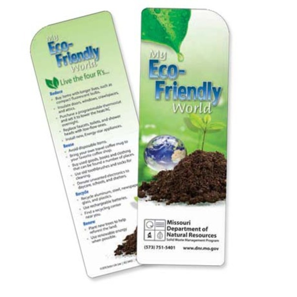 My Eco-Friendly World Bookmark