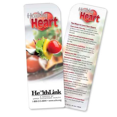 Healthy Heart Bookmark