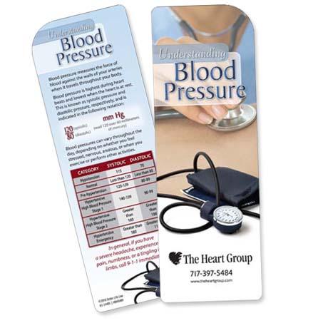 Understanding Blood Pressure Bookmark