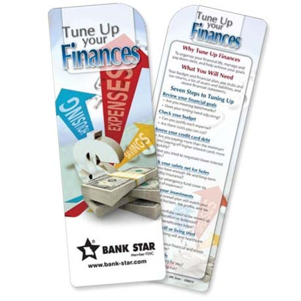 Tune Up Your Finances Bookmark