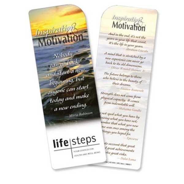 Inspiration & Motivation Bookmark