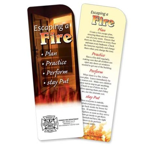 Escaping A Fire Bookmark