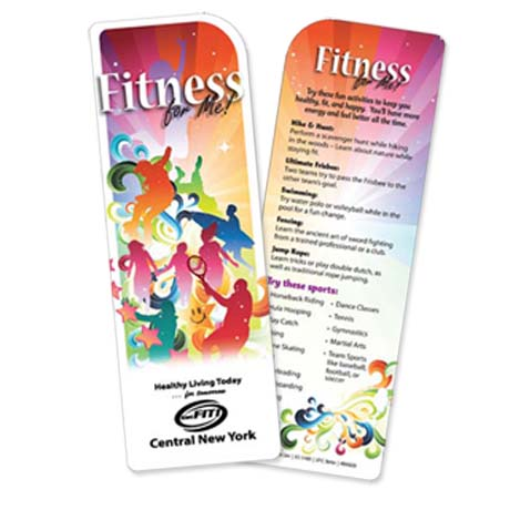 Fitness For Me Bookmark