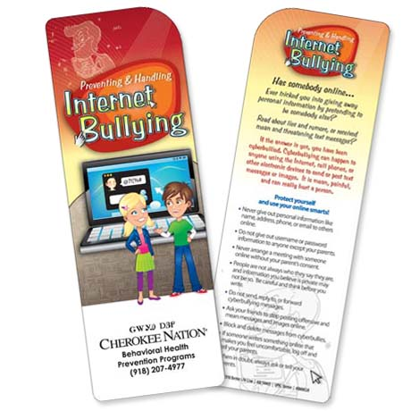 Preventing & Handling Internet Bullying Bookmark