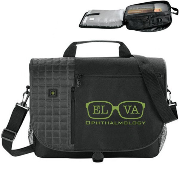 "Verve TSA 15"" 600D Computer Messenger Bag"