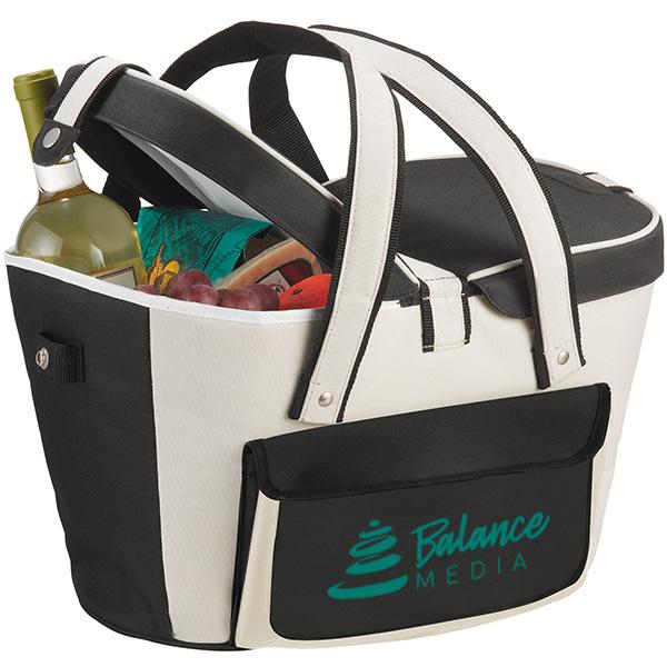Picnic Basket 24 Can Cooler