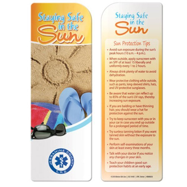 Staying Safe in the Sun Bookmark