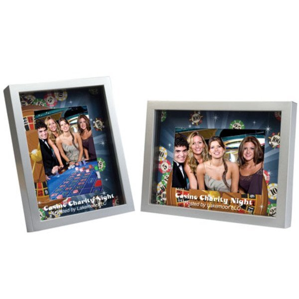 "Shadow Box Frame w/ Full Color Matte, 4"" x 6"""