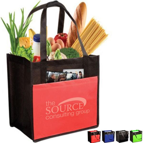 Laminated Enviro-Shopper Tote Bag