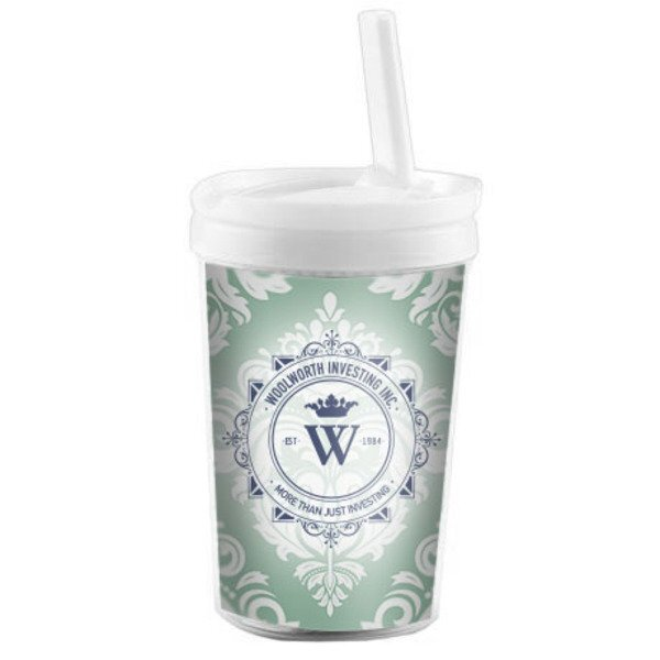Child Tumbler with Drinking Spout, 8oz. w/ Full Color Imprint
