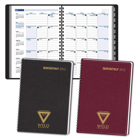Tabbed Telephone & Address Monthly Planner