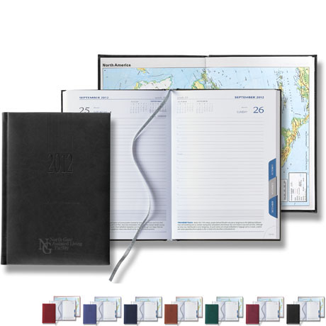 Tucson Tabbed Mid Size Daily Planner