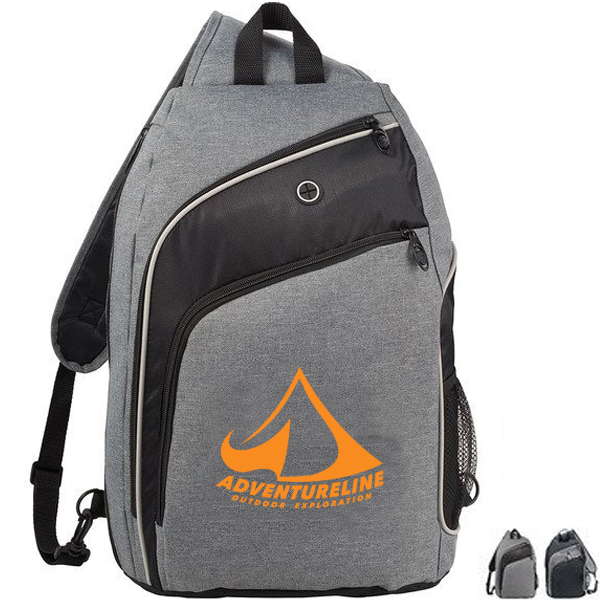 "Vortex 15"" 600D Computer Sling Backpack"