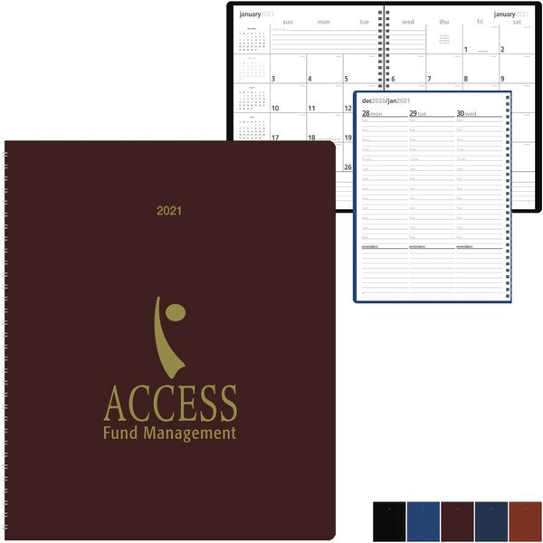 Monthly & Weekly Desk Planner