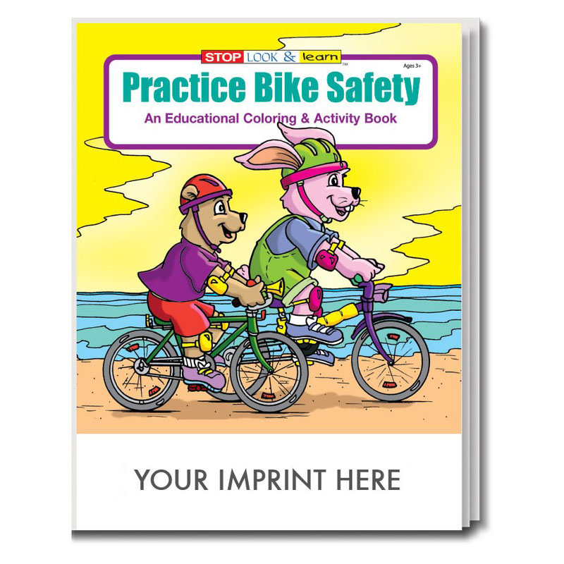 Practice Bike Safety Coloring & Activity Book