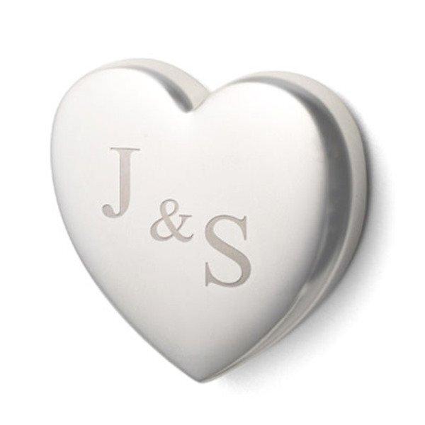 Metal Heart Shaped Magnet