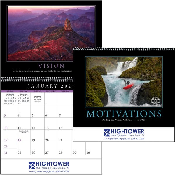 Motivations Wall Calendar