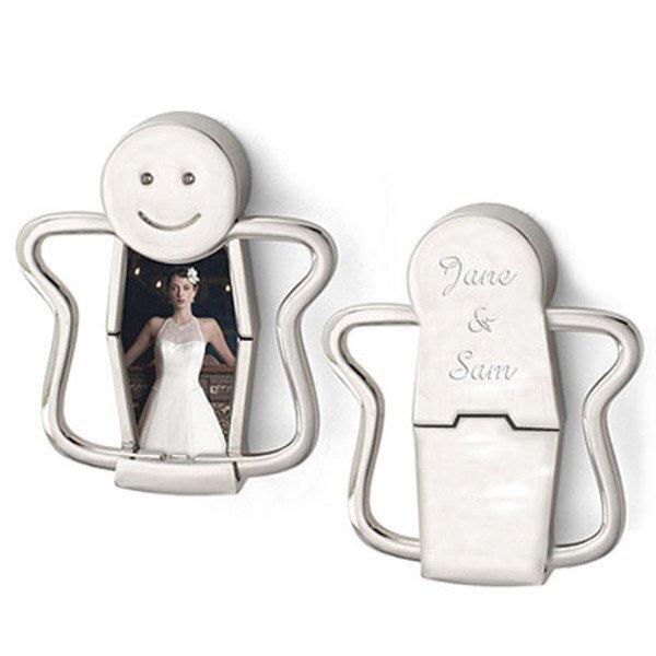 Happy Face Photo Key Holder