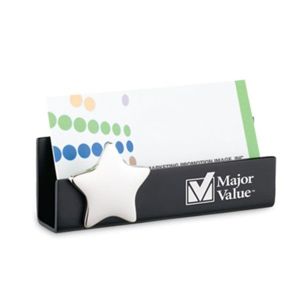 Star Desktop Business Card Holder