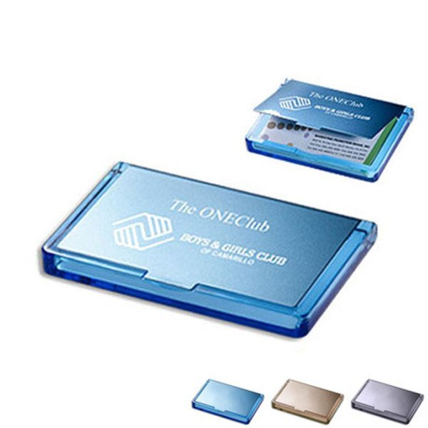 Acrylic & Stainless Steel Business Card Case
