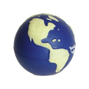 Glow In The Dark Earth Ball Stress Reliever