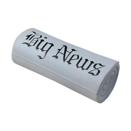 Newspaper Stress Shape