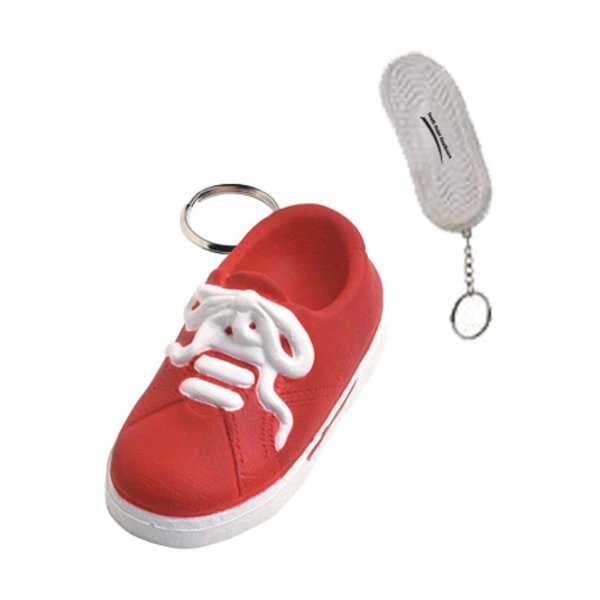Sneaker Stress Reliever Key Chain