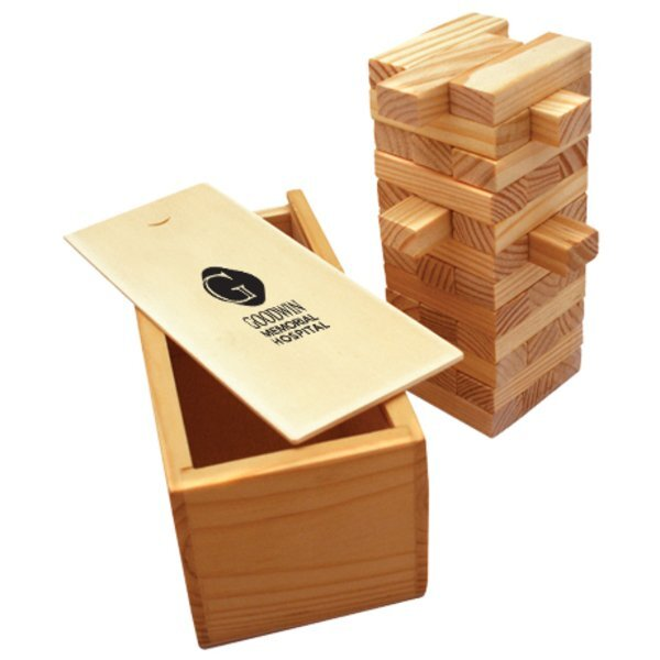 Wood Tower Puzzle Game