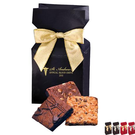 Gourmet Brownies Favor Box