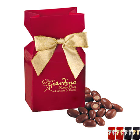 Milk Chocolate Covered Almonds Favor Box