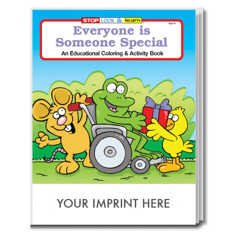 Everyone Is Someone Special Coloring & Activity Book