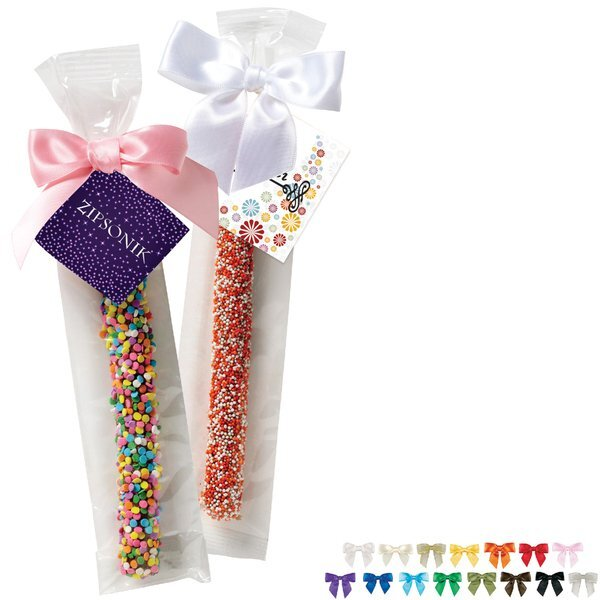 Individual Chocolate Covered Pretzel Rod