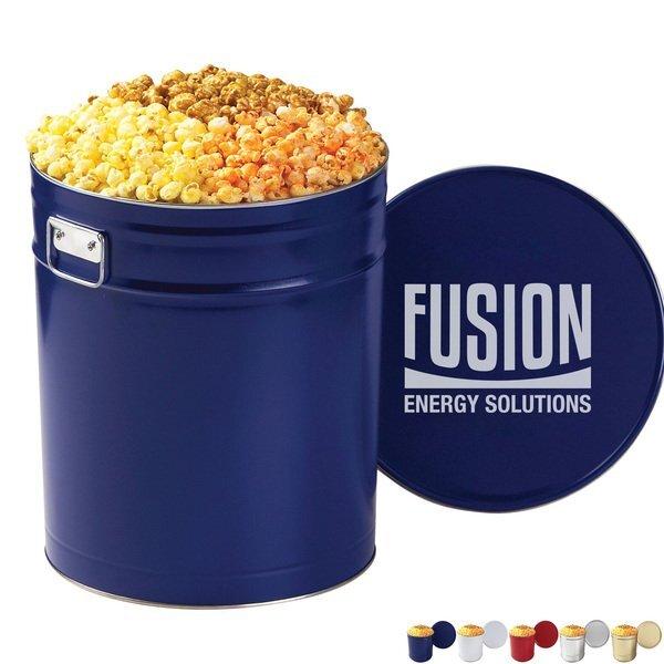 Three Way Popcorn Tin, 6.5 Gallon
