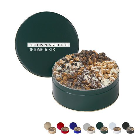 Four Way Gourmet Creations Popcorn Tin