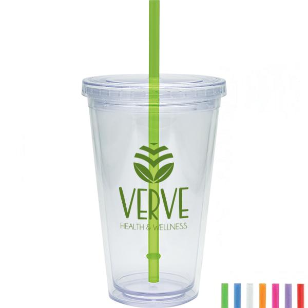 Acrylic Beverage Tumbler, 20oz., BPA Free