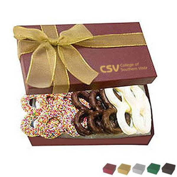 The Executive Gourmet Chocolate Pretzel Box