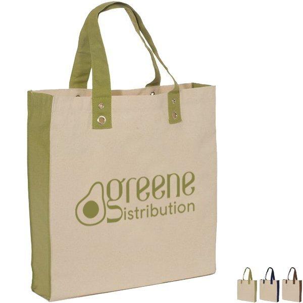 Eco-World Natural Cotton Canvas Tote Bag