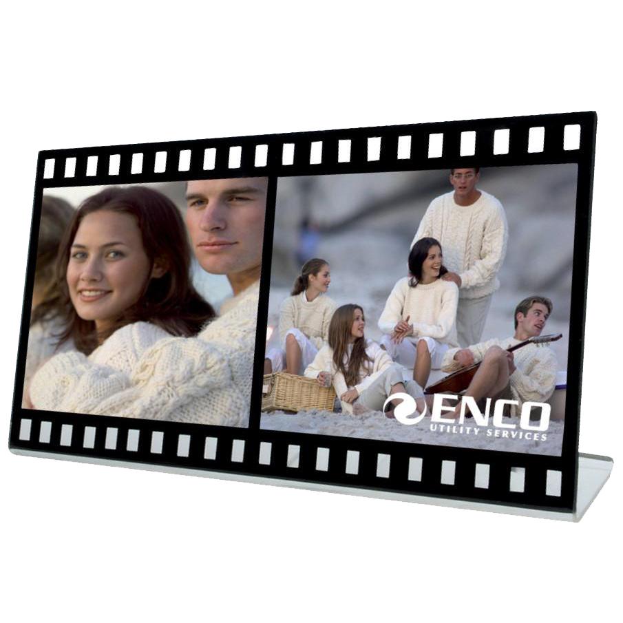 Acrylic Film Double Photo Frame