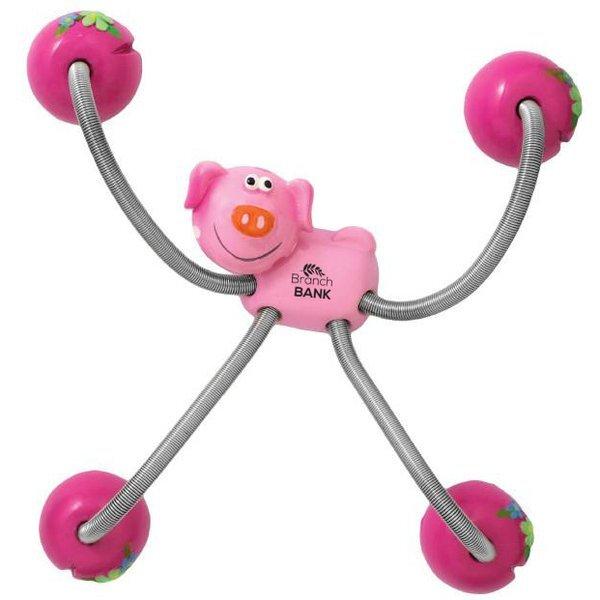 Five-Point Animal Magnet - Pig