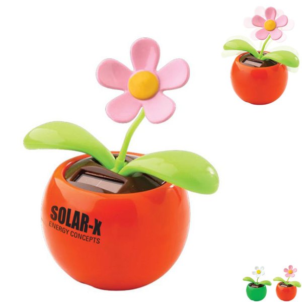 Dancing Flower Solar-Powered Desk Toy